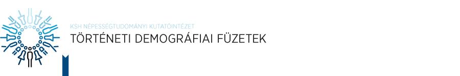 Történeti Demográfiai Füzetek